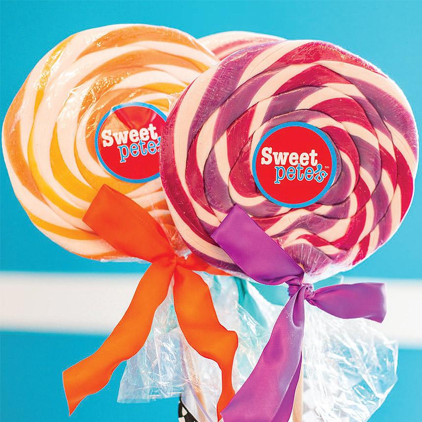 Image of Sweet Pete's lollipops