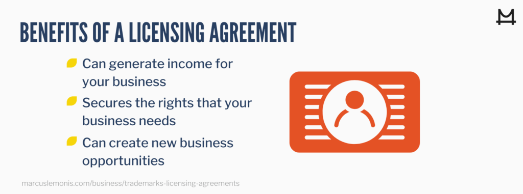 Benefits of a licensing agreement for your business