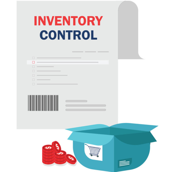 Keep track of stock with inventory control sheets