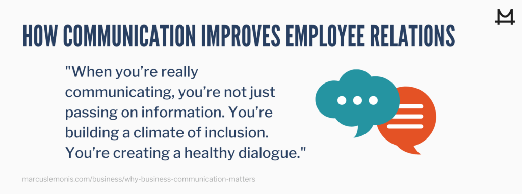 Understanding how communication improves employee relations