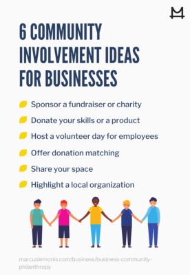 Six community involvement ideas to try out for your business