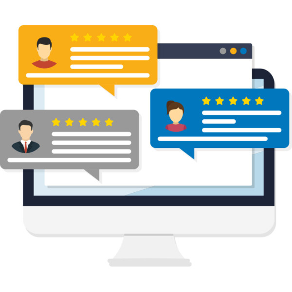 A key to business success is by connecting with customers through online reviews