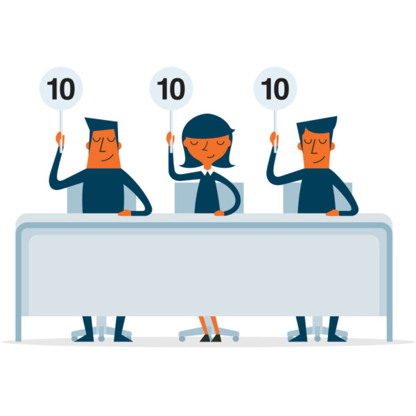Customers giving positive 10 reviews of the companies strategy