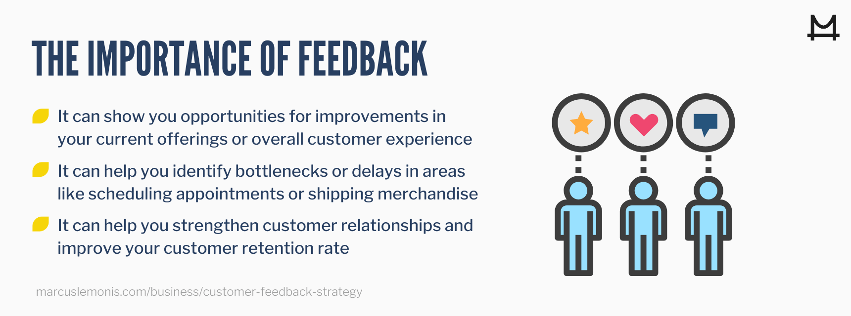 The importance of customer feedback for businesses