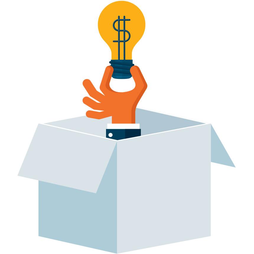 Inside the box idea that is profitable
