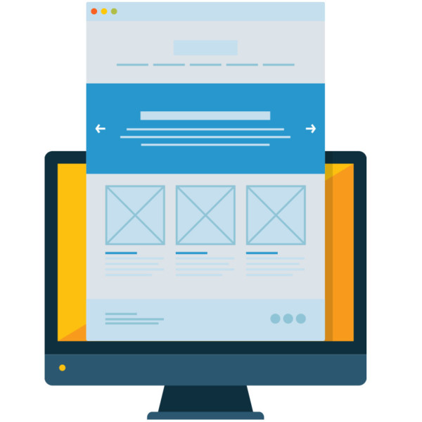 Opening a remarketing email on desktop