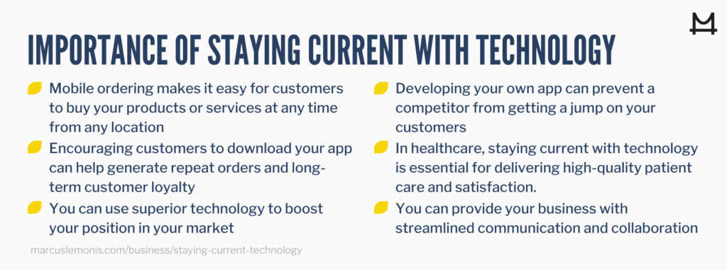 Reasons why it is important to stay current with technology
