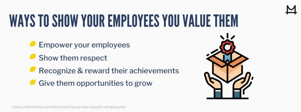 Four different ways to show your employees that you value them