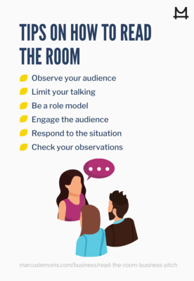 Tips on how to read the room effectively