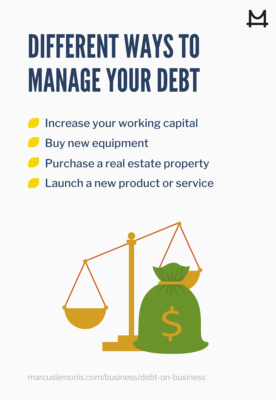 List of different ways to manage your debt
