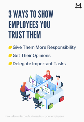 Various ways to show employees that you trust them