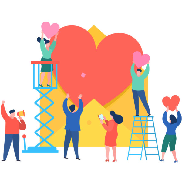 Business working together to send the community love