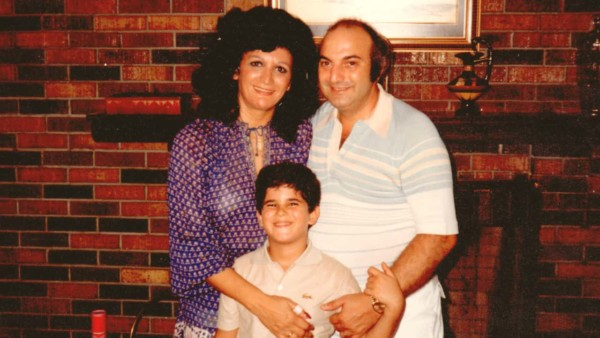 Image of a young Marcus Lemonis with his parents.