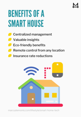 List of benefits of having a smart home