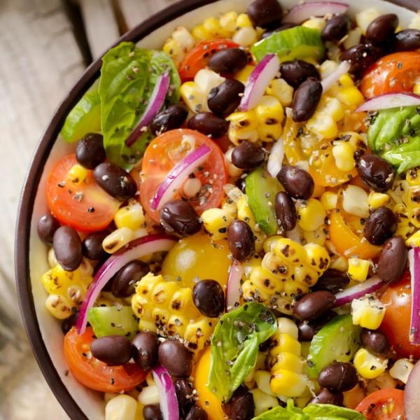 image of black bean and corn salad