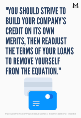 Building business credit.