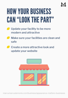 How to get your business to look the part