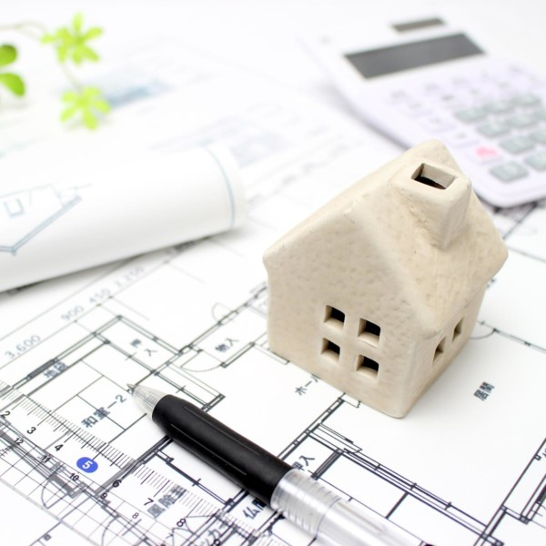 designing a house with budget papers
