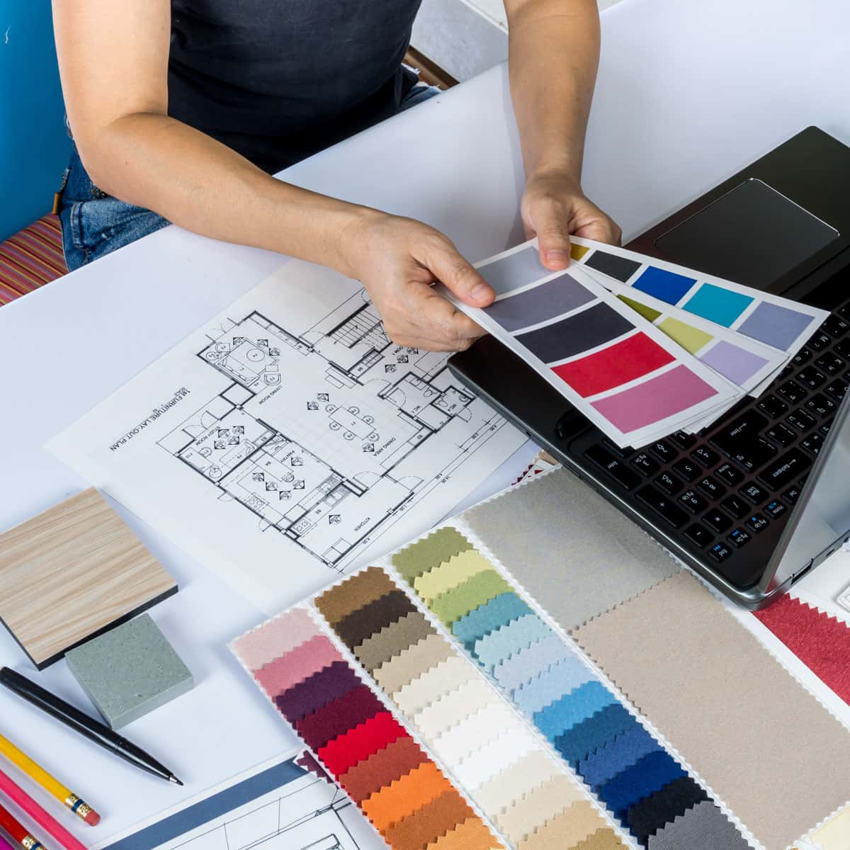 Designing a color palette for new home
