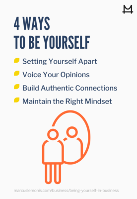 List of Ways to Be Yourself