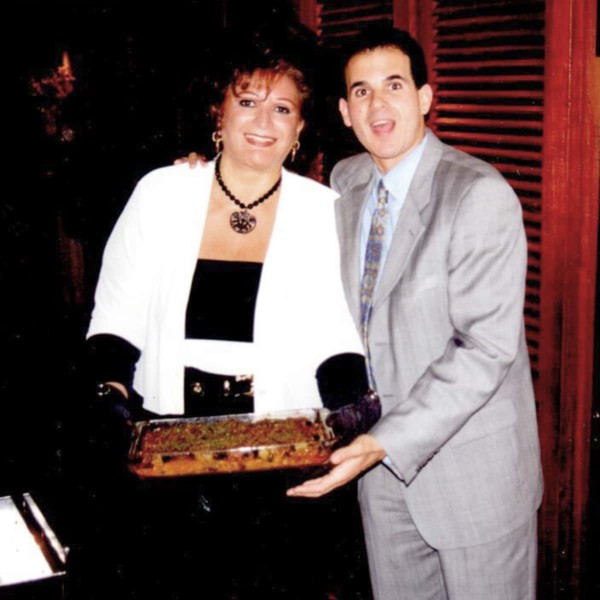 Image of Marcus Lemonis with his mother.