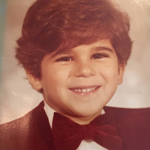 Image of Marcus Lemonis as a child.