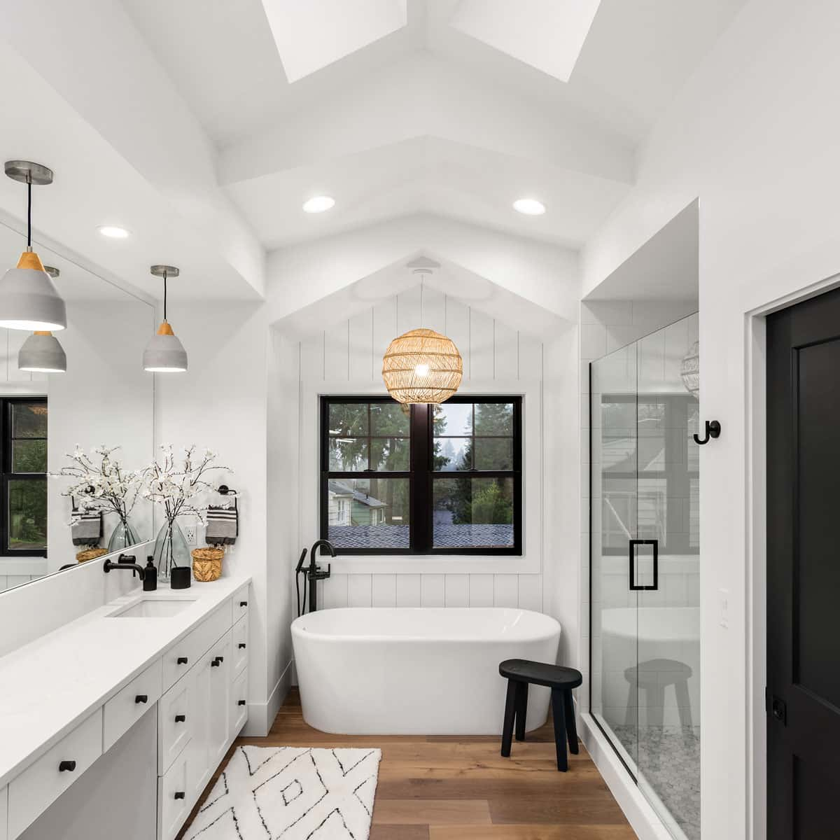 Newly renovated bathroom that increases the home value