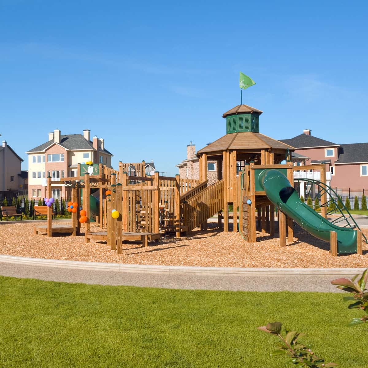 Playground in the neighborhood that could increase the value of your home