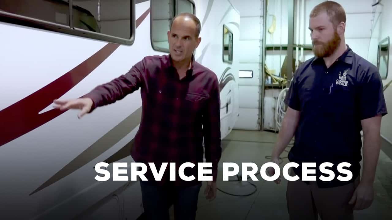 RV service process video