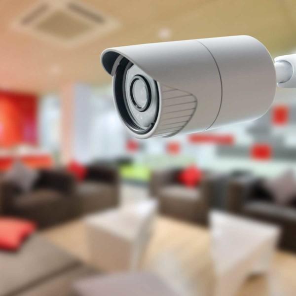 Image of a surveillance camera.