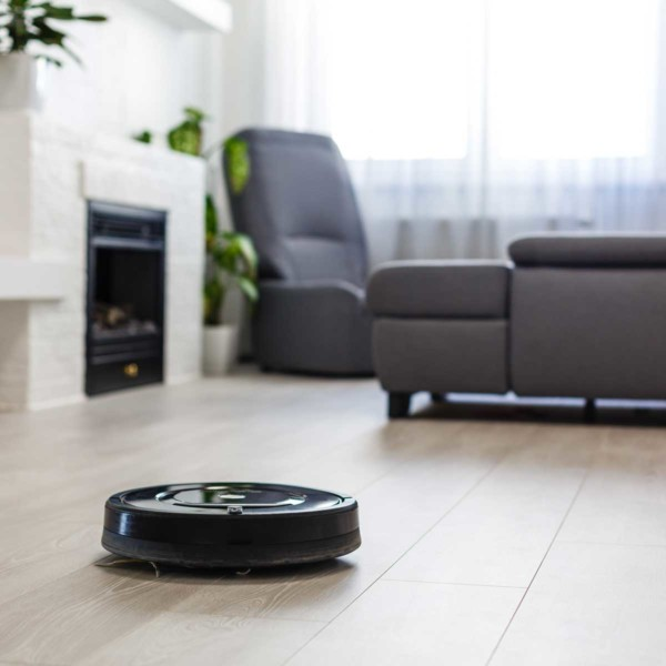 Image of a smart sweeper robot.