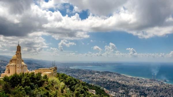 Image of the Lebanon skyline