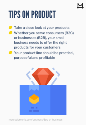 List of tips on product for business success
