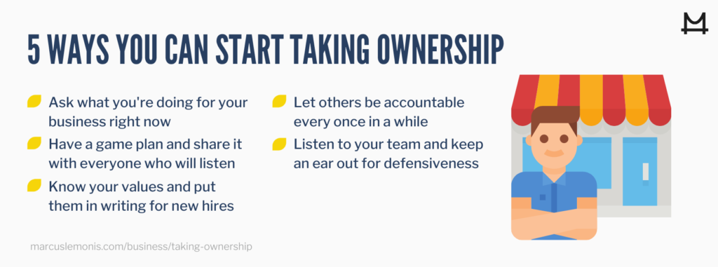 Five ways you can start taking ownership of your work and business