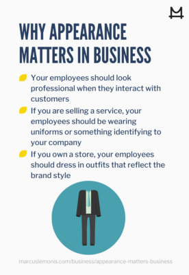 Reasons why appearances matter in business