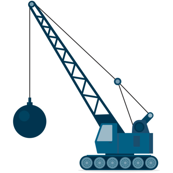 Image of wrecking ball