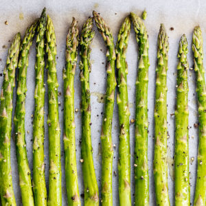 Image of Asparagus Side by Side