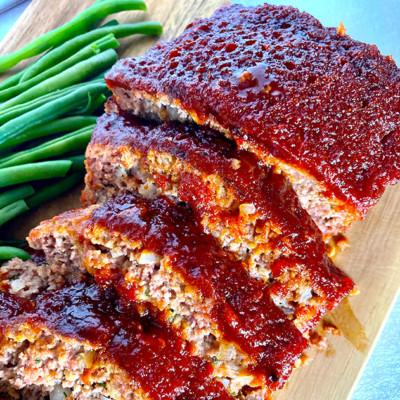 Image of Skinny Latina Meatloaf Recipe