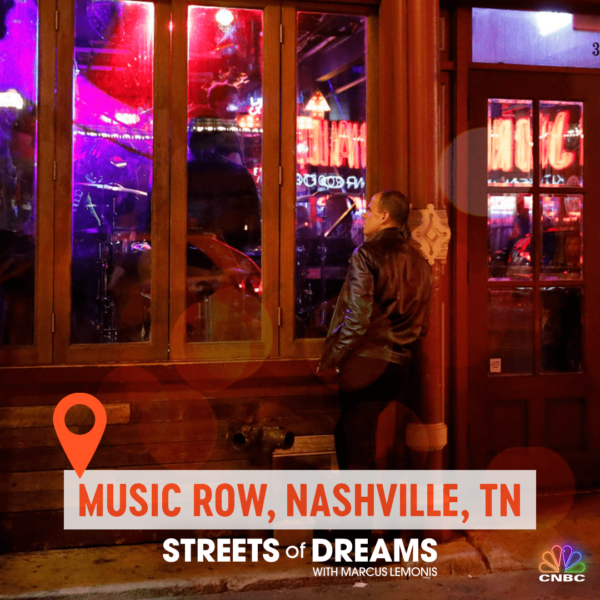 Streets of dream, Music Row.