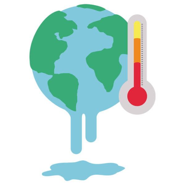graphic of global warming