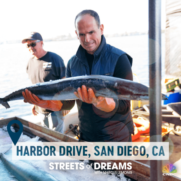 Streets of dream, Harbor Drive.