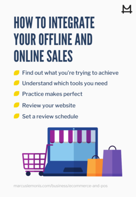 List of how to integrate your offline and online sales