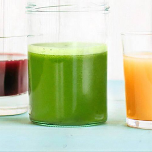 image showing various glasses of juice