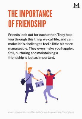 Defining the importance of friendship