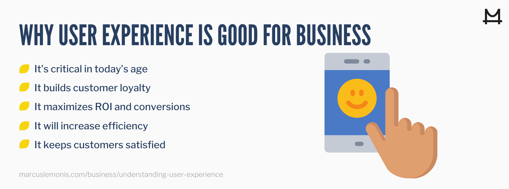 5 reasons user experience is important