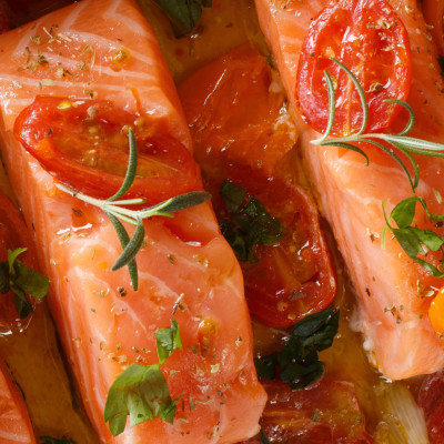 Image of salmon filets