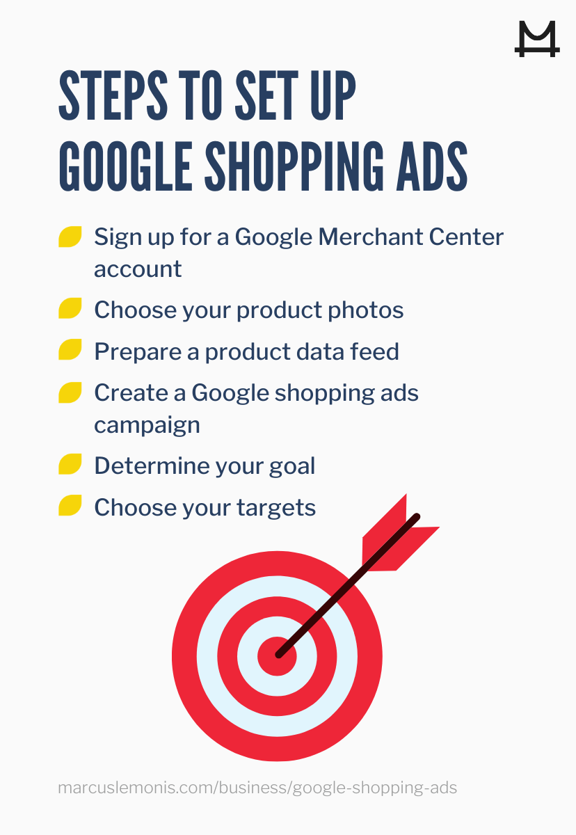 6 steps to set up google shopping ads