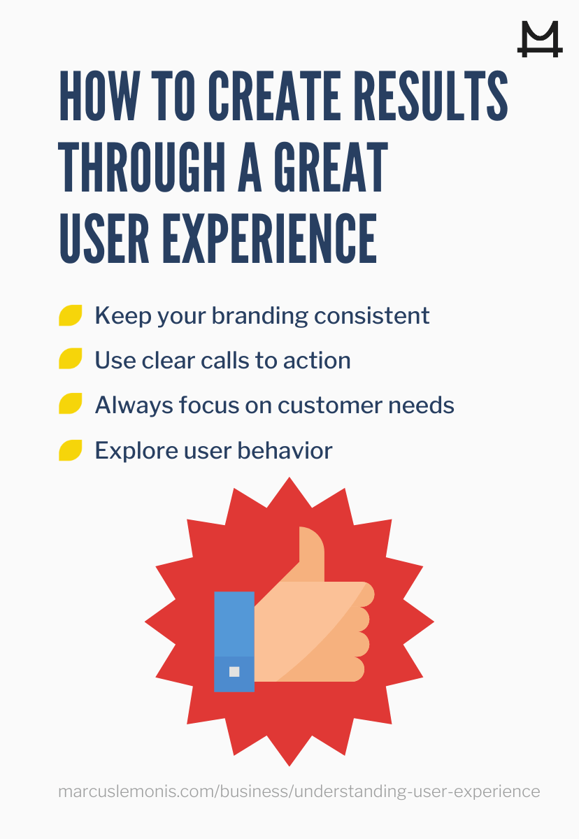 tips for a great user experience