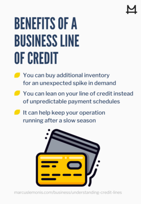List of benefits of having ab business line of credit