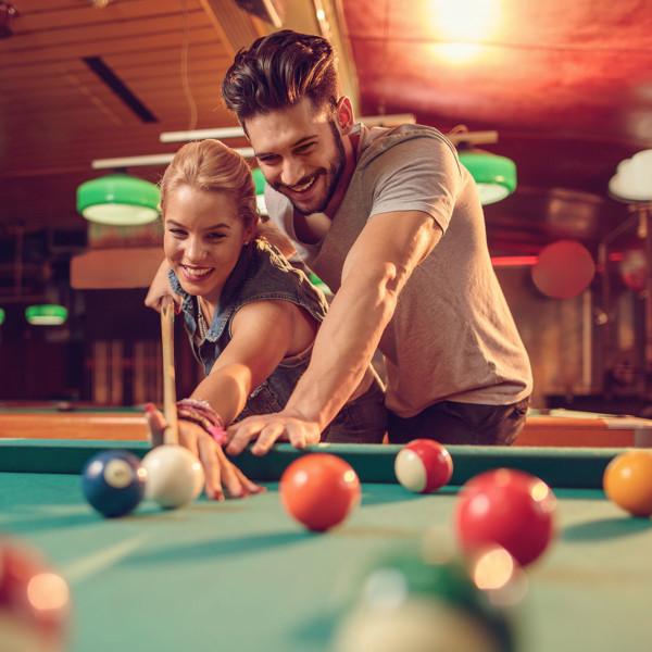 first date in billiards room